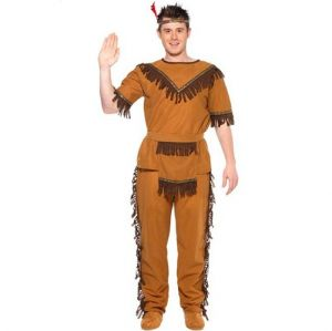 New Indian Brave Fancy Dress Costume