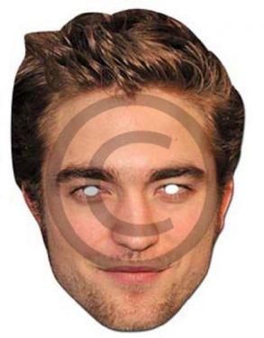 Celebrity Fancy Dress Mask - Robert Pattinson Card Mask