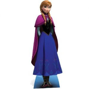 Licensed Disney Frozen Lifesize Cutout 155cm - Anna