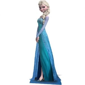 Licensed Disney Frozen Lifesize Cutout 160cm - Elsa