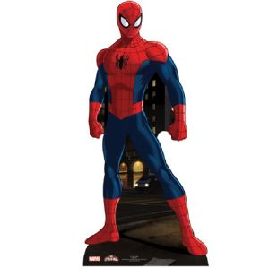 Licensed Marvel Spiderman Adult Lifesize Cutout