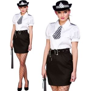 Ladies Constable Cutie WPC Fancy Dress Costume