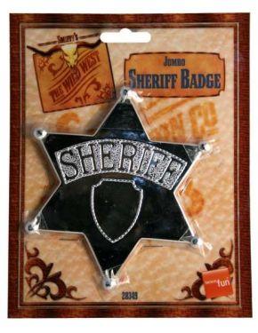 Cowboy Fancy Dress Sheriff Badge