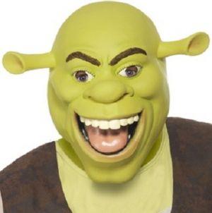 Shrek Fancy Dress Overhead Mask