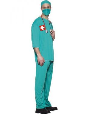Mens Surgeon Costume - M & L