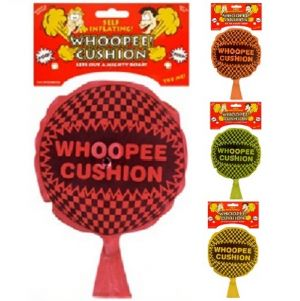 Joke Jumbo Whoopee Cushion Self Inflate