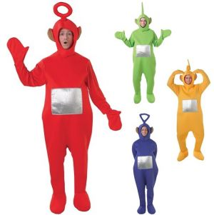 Licensed Adult Teletubbies Fancy Dress Costume
