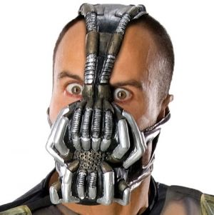 Officially Licensed Bane 3/4 Latex Headmask