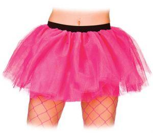 Ladies Soft 3 Layer Tutu - Hot Pink