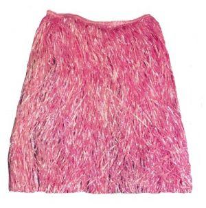 Hawaiian Fancy Dress Hula Skirt - 60cm - Pink