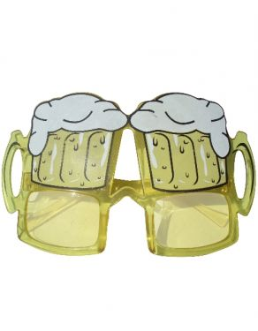 Stag Night Beer Glasses - Fancy Dress Sunglasses