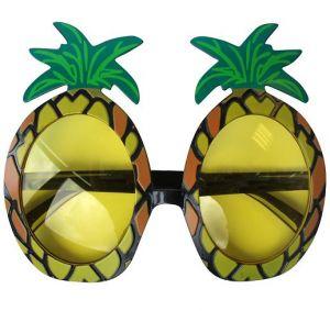 Hawaiian Pineapple Fancy Dress Sunglasses