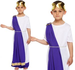 Childs Roman Emperor Fancy Dress Costume