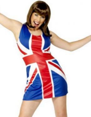 Ladies Union Jack Spice Dress