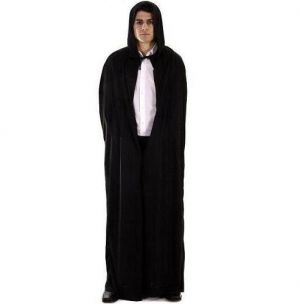 Halloween Fancy Dress Hooded Cape