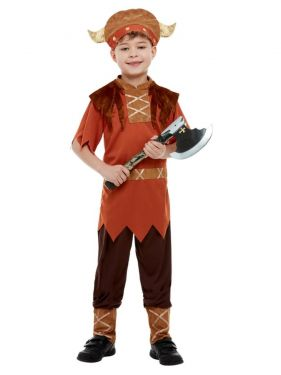 Boys Viking Fancy Dress Costume