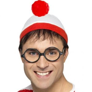 Where's Wally Instant Hat & Glasses Kit