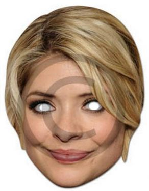 Holly Willoughby Mask - Fancy Dress Mask