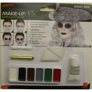 Halloween Ghost Ship Make Up Kit