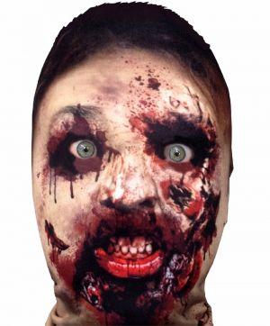 Halloween Faceskinz Stretch Fabric Mask - Killer Zombie