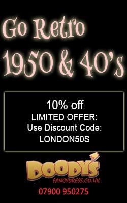 Go retro 1950s and 40s