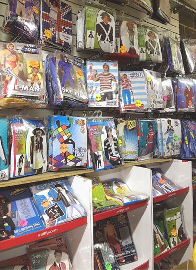 Selection of Try Before You Buy Fancy Dress and Party Wear In Bradford West Yorkshire