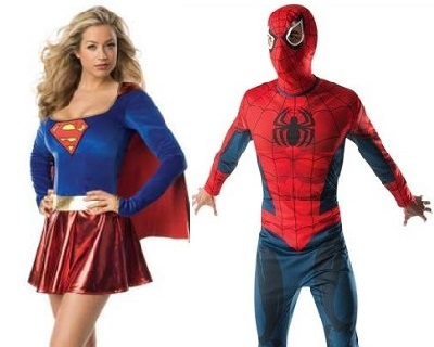 mens superheroes fancy dress