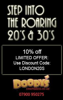 Step Into the roaring 20's and 30's with latest fancy dress